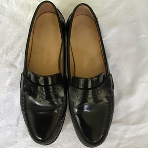 Cole Haan 7 1/2 black loafers.
